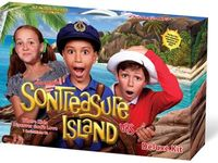 Set sail for an island adventure in search of the world's greatest treasure that is worth more than the purest gold! Feel the ocean breeze, hear the island music, taste tropical fruits, play island games and create colorful crafts. But at SonTreasure Island, there is much more than meets the eye because children discover God's love is treasure forever! Every day, kids learn of God's love expressed through Jesus, based on 1 Corinthians 13. Ships Ahoy Maties!