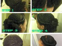 To do hairdo's step by step