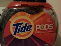Tide pods containers