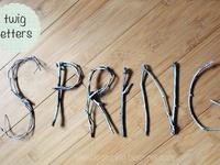 Crafts w/ sticks & vines