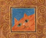 needlepoint, including had-painted canvases, charted canvas (counted needlepoint) and other products for needlepoint, including needlepoint books.