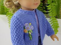 I wish I had a daughter so I could make zillions of clothes for her dolls...