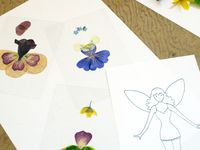 CRAFTS-----Pressed Flowers