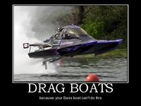 drag racing boats