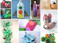 PLASTIC BOTTLES CRAFTS/BOTELLAS DE PLASTICO