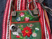 Typical Swedish ethnic clothing