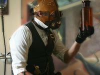 Steampunk male costume