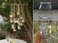DIY:Candles, Display Ideas