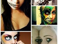 Face painting for costumes and make-up