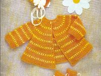 Crochet-baby clothes, blankets,afghans, bibs, etc.