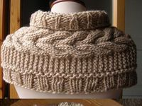 crocheting / knitting