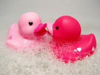 For my daughter, Mindy (Mimi thanks to her little  brother), whose fave color is pink.  <3