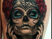Some of the finest examples of Day of the Dead girls/Skulls that can be found globally. Let this serve as an inspiration for your ideas and Ink.