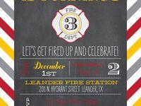 Firefighter birthday