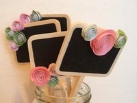 Table Numbers & Escort Cards