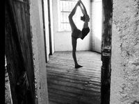 Hot yoga studio