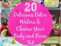 Detox inspiration and motivation. Healthy living and clean diet.
