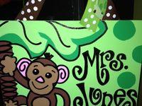 Jungle-Monkey-Rainforest themed classroom ideas!