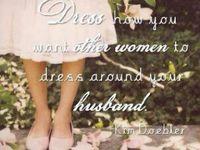 Modest {clothes}