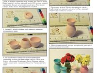 Quilled Vases, Bowls and Baskets