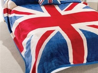 Because the Union Jack is clearly and obviously THE coolest flag in the world.