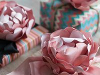 How to's, instructions, ideas & tutorials on making your flowers for crafts...out of anything.