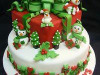 Holiday cakes, birthday, baby, etc