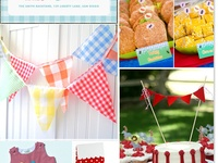 Will's 1st Birthday - Party Ideas!