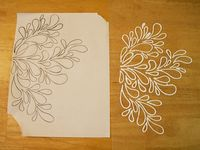 Puffy paint designs