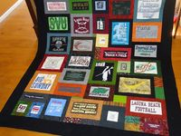 Quilting t shirts
