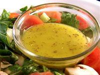 Salad and salad dressings