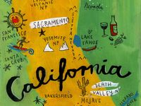 """California is my home state. I was born and raised in the Napa valley, better known as """"The Wine Country.""""  I want to share my state and my beautiful valley, so I am inspired to make  this California board. I hope you will enjoy pinning from it."""