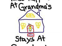 Grandmas / Mimi/ Nana / Grandpa/ pop pop / Papa