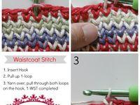 Crochet, Knit, Sew