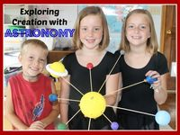 Experiments, Activities and Ideas for teaching Astronomy at home to your child