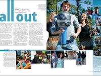 yearbook spreads