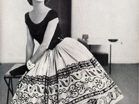 All kind of inspiring images from vintage fashion / haute couture from the old days.