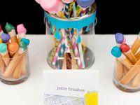 Art#Rainbow#Unicorn#Neon#Party Ideas