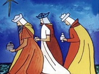 Just Three Wise Men, or interpretations of them.
