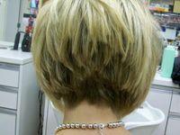 Choppy haircuts