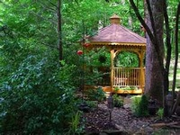 Gazebos and outhouses