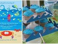 London and Lyla's Under the Sea 3rd Birthday