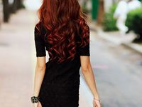 Beautiful Hair Ideas for wedding, color, cuts, or generally beautiful styles.