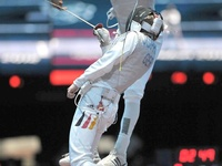 All aspects of fencing and the occasional historical reference or gorgeous sword. For the record, you are welcome to as many Pins on my boards as you would like. Thanks for reading. :)