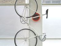 Various ways to store a bicycle indoors