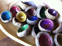 Acorn, Nuts & Pinecone Crafts