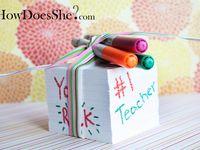 Back to School ideas/Teacher Appreciation