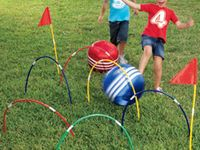This board is for gross motor skills activities, coordination, motor planning, proprioreceptive input, and other sensory motor activities and articles.