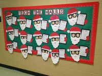 PE bulletin boards and things for the walls
