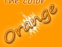 The color orange is optimistic, sociable and extroverted.